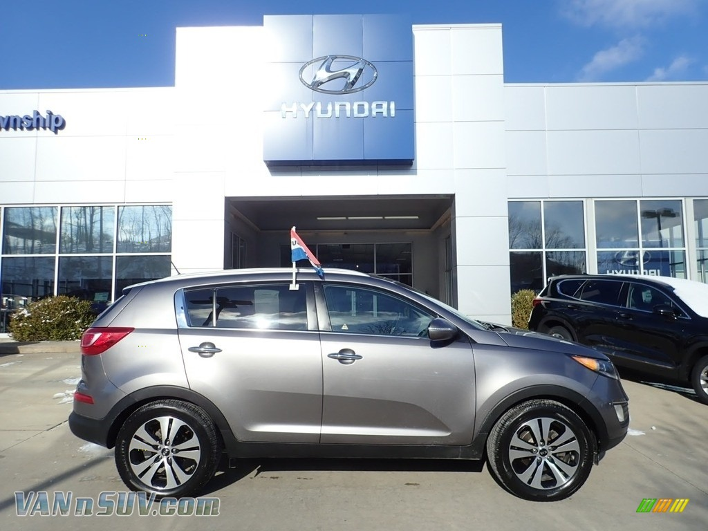 2012 Sportage EX - Mineral Silver / Alpine Gray photo #1