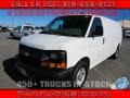 Chevrolet Express 2500 Cargo Extended WT Summit White photo #1