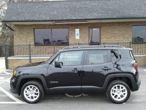 Black 2019 Jeep Renegade Sport 4x4