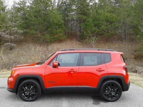 Colorado Red 2019 Jeep Renegade Altitude