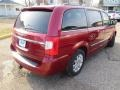 Chrysler Town & Country Touring Deep Cherry Red Crystal Pearl photo #17