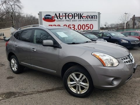 Frosted Steel 2013 Nissan Rogue SV AWD