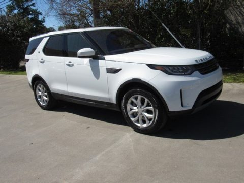Fuji White 2019 Land Rover Discovery SE