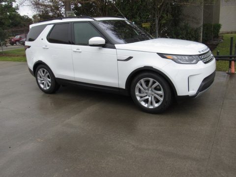Fuji White 2019 Land Rover Discovery HSE