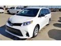 Toyota Sienna L Super White photo #1