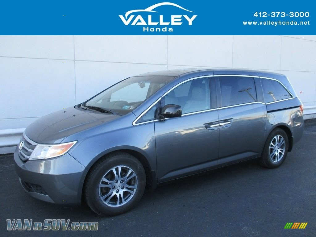 Polished Metal Metallic / Gray Honda Odyssey EX-L