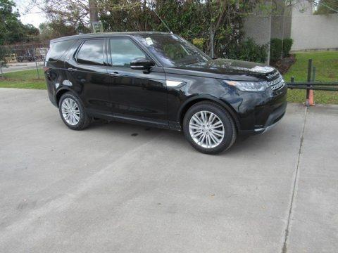Santorini Black Metallic 2019 Land Rover Discovery HSE Luxury