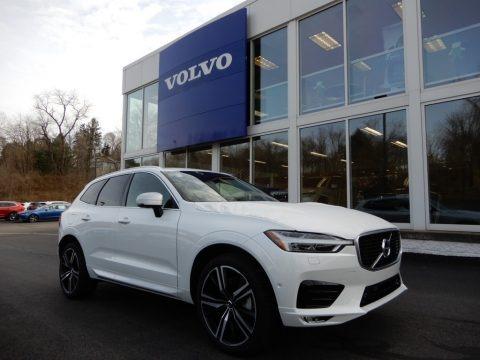 Crystal White Metallic 2019 Volvo XC60 T6 AWD R-Design