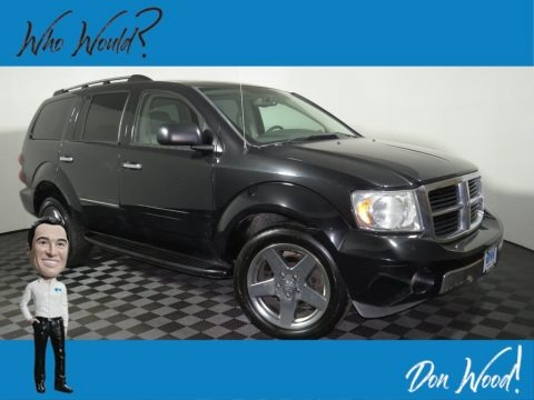 Brilliant Black 2008 Dodge Durango Limited 4x4