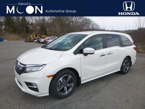 White Diamond Pearl 2019 Honda Odyssey Touring