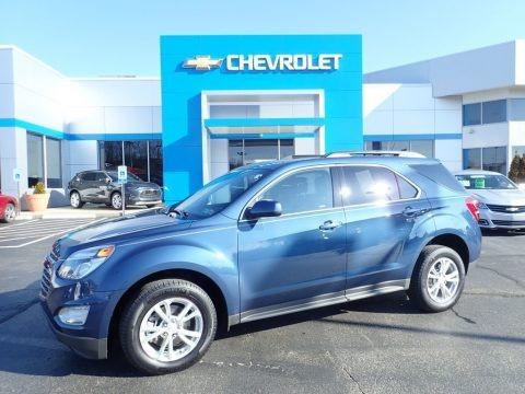 Patriot Blue Metallic 2016 Chevrolet Equinox LT AWD