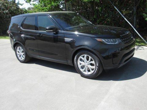 Santorini Black Metallic 2019 Land Rover Discovery SE