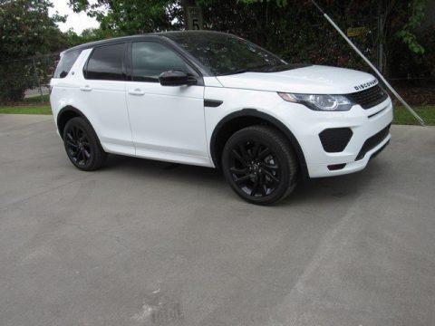 Fuji White 2019 Land Rover Discovery Sport HSE Luxury
