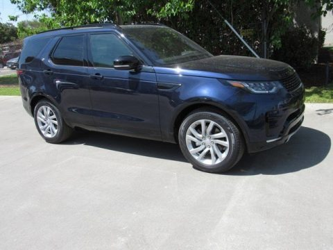Loire Blue Metallic 2019 Land Rover Discovery HSE