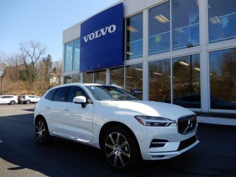 Crystal White Metallic 2019 Volvo XC60 T5 AWD Inscription