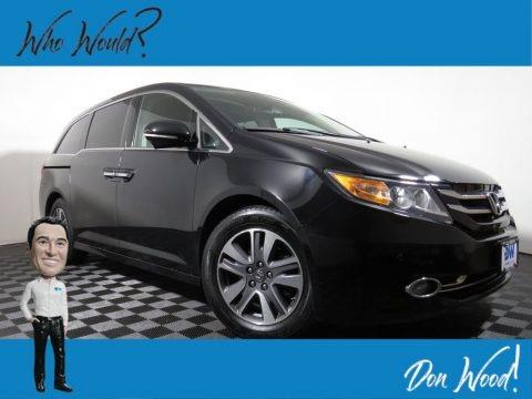 Crystal Black Pearl 2014 Honda Odyssey Touring