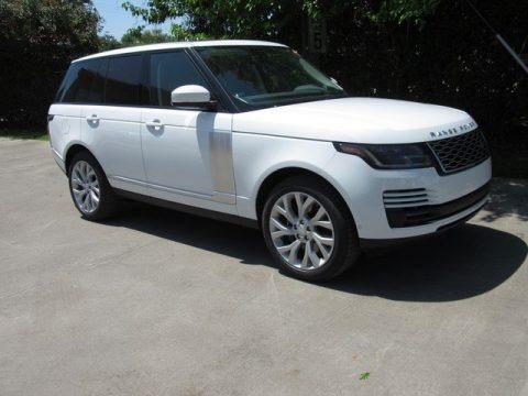 Fuji White 2019 Land Rover Range Rover HSE