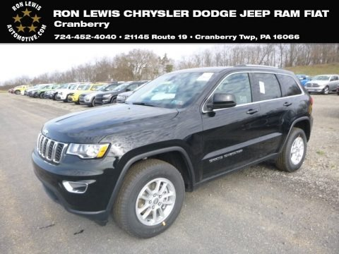 Diamond Black Crystal Pearl 2019 Jeep Grand Cherokee Laredo 4x4