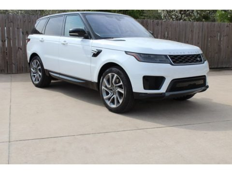 Fuji White 2019 Land Rover Range Rover Sport HSE