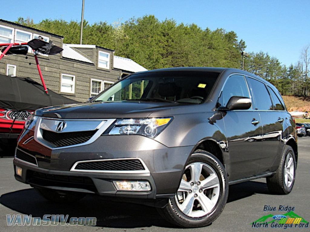 2012 MDX SH-AWD Technology - Grigio Metallic / Ebony photo #1