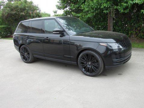 Santorini Black Metallic 2019 Land Rover Range Rover Supercharged