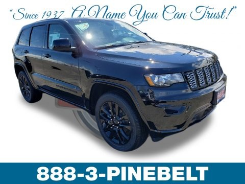 Diamond Black Crystal Pearl 2019 Jeep Grand Cherokee Altitude 4x4