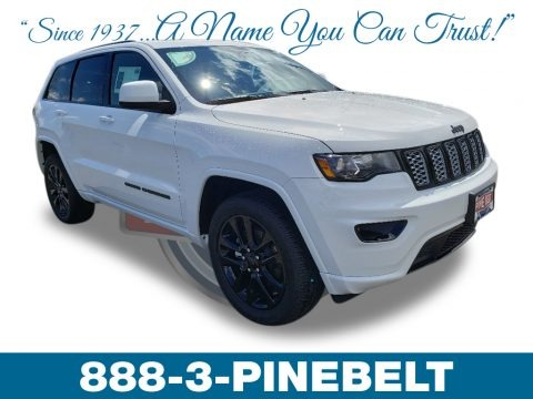 Bright White 2019 Jeep Grand Cherokee Altitude 4x4