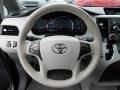 Toyota Sienna XLE Predawn Gray Mica photo #23