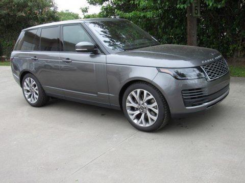 Corris Gray Metallic 2019 Land Rover Range Rover Supercharged