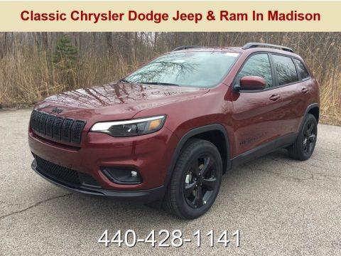 Velvet Red Pearl 2019 Jeep Cherokee Latitude Plus 4x4