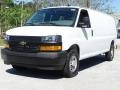 Chevrolet Express 2500 Cargo Extended WT Summit White photo #5