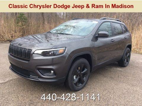 Granite Crystal Metallic 2019 Jeep Cherokee Latitude Plus 4x4