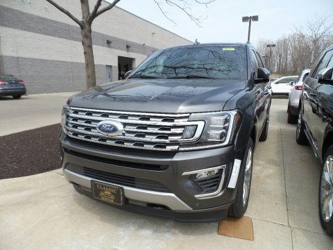 Magnetic Metallic 2019 Ford Expedition Limited 4x4