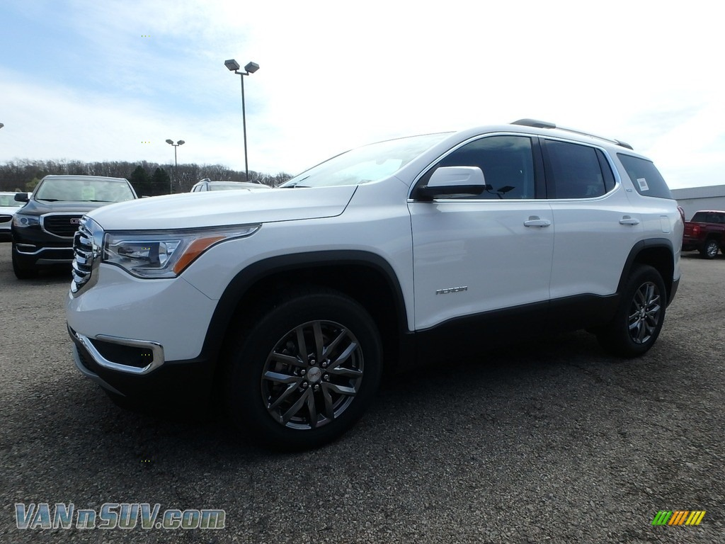 2019 Acadia SLT AWD - Summit White / Jet Black photo #1