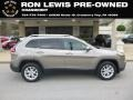 Jeep Cherokee Latitude 4x4 Light Brownstone Pearl photo #1