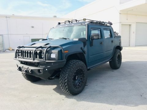All Terrain Blue 2007 Hummer H2 SUT