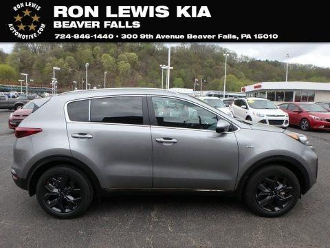 Steel Gray 2020 Kia Sportage S AWD