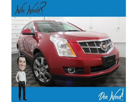 Crystal Red Tintcoat 2012 Cadillac SRX Performance AWD