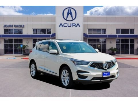 White Diamond Pearl 2019 Acura RDX AWD