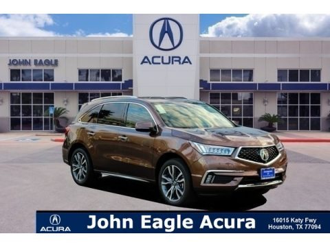 Canyon Bronze Metallic 2019 Acura MDX Advance