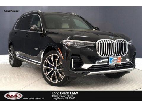 Black Sapphire Metallic 2019 BMW X7 xDrive50i