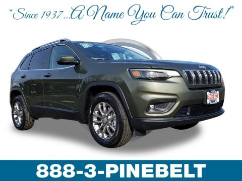 Olive Green Pearl 2019 Jeep Cherokee Latitude Plus 4x4
