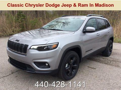 Billet Silver Metallic 2019 Jeep Cherokee Latitude Plus 4x4