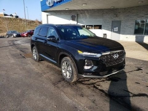 Twilight Black 2019 Hyundai Santa Fe Ultimate AWD