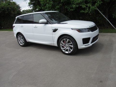 Fuji White 2019 Land Rover Range Rover Sport Supercharged Dynamic