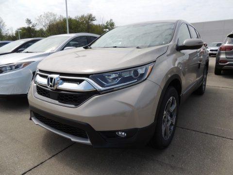 Sandstorm Metallic 2019 Honda CR-V EX-L