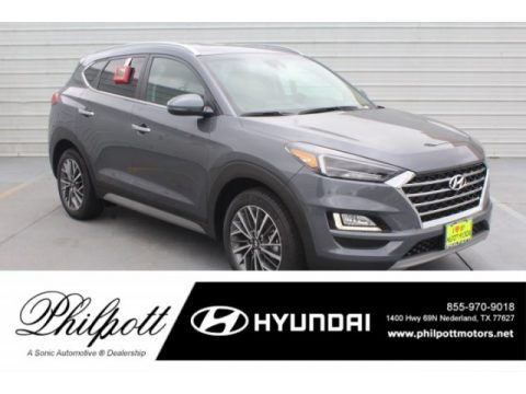 Coliseum Gray 2019 Hyundai Tucson Limited