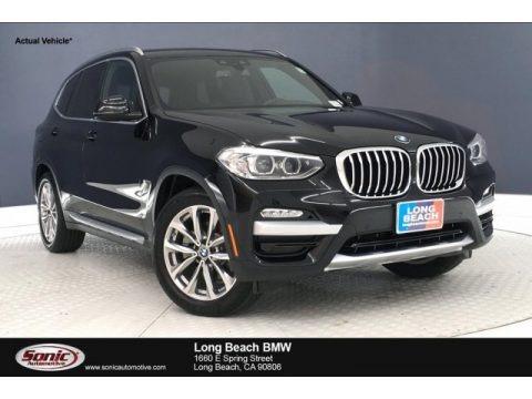 Jet Black 2019 BMW X3 sDrive30i