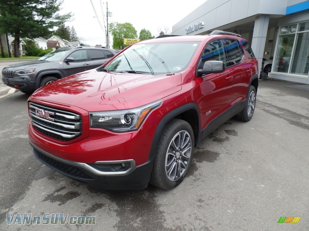 2019 Acadia SLT AWD - Red Quartz Tintcoat / Jet Black/Kalahari photo #1