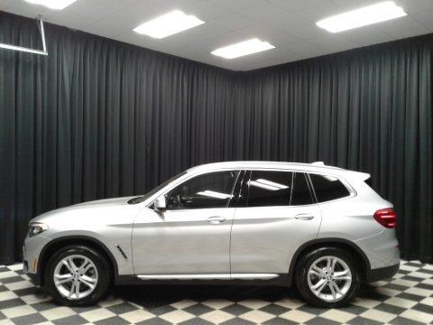 Glacier Silver Metallic 2019 BMW X3 xDrive30i